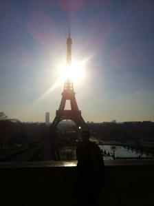 Me & the Eiffel Tower - Feb 2012